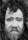 Street drinker. Irish street drinker in Bethanl Green Stock Images