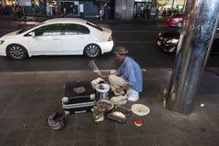 Street drummer Stock Image