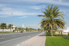 Street in Dubai Royalty Free Stock Images