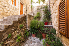 Street in Dubrovnik. Croatia. Stock Image