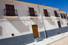 Street of Dueñas Royalty Free Stock Images
