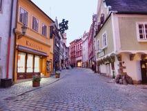 Street at Dusks Royalty Free Stock Image