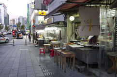 Street eats Busan Stock Photos