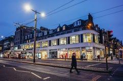 Street in Edinburgh Royalty Free Stock Photography
