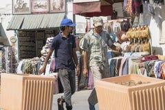 Street in El Djem Royalty Free Stock Photo