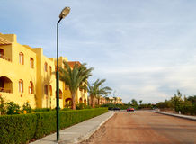 Street in El-Gouna Royalty Free Stock Photos