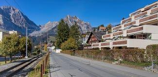 Street in Engelberg Stock Image