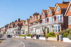 Street in England with typical houses Stock Image