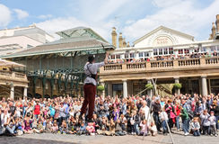 Street Entertainer Covent Garden London Stock Photos