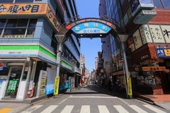 Street is the entrance of Kabukicho Royalty Free Stock Photos