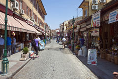 Street in Eskisehir Royalty Free Stock Photo