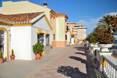 Street Estepona Royalty Free Stock Images