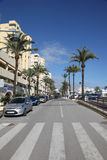 Street in Estepona, Andalusia Spain Royalty Free Stock Photography