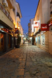 Street in Estepona, Spain Royalty Free Stock Images