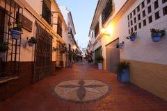 Street in Estepona, Spain Stock Image