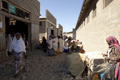 A street in Ethiopia Royalty Free Stock Images