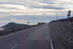 Street on Etna Royalty Free Stock Photos