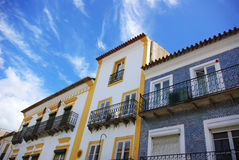 Street of Evora Royalty Free Stock Images