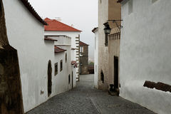 Street at Evora town, Portugal Royalty Free Stock Images