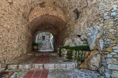 Street of Eze Royalty Free Stock Images