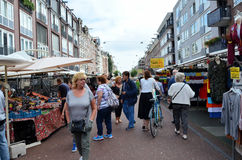 Street fair in Amsterdam Royalty Free Stock Photos
