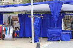 Street fair in La Serena Chile Royalty Free Stock Image