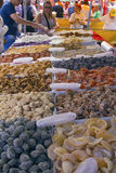 Street fair tend of hand made candies Royalty Free Stock Images