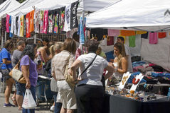 Street Fair Vendor Stock Photos