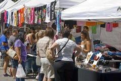 Street Fair Vendor Stock Photos
