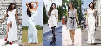 Street Fashion, Beautiful young women Stock Photography