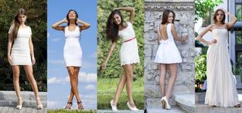 Street Fashion, Beautiful young women Stock Photo