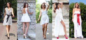 Street Fashion, Beautiful young women Royalty Free Stock Photo