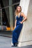 Street Fashion in New York. Stock Image