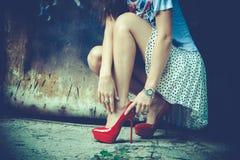 Street fashion Royalty Free Stock Image