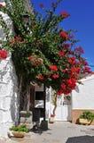 Street of Fataga, Gran Canaria, Spain Royalty Free Stock Photo