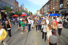 Street Festival Royalty Free Stock Photography