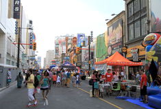 Street Festival Royalty Free Stock Photos