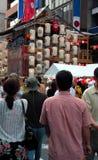 Street festival stock images
