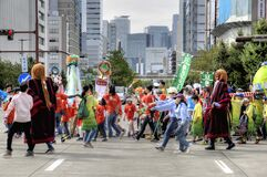 Street festival in Nagoya, Japan