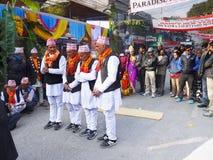 Street Festival Asia Nepal Royalty Free Stock Photography
