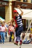 Street Festival In Zagreb Royalty Free Stock Photos