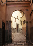 Street of fez in the medina Royalty Free Stock Images