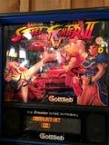 Street fighter II Pinball machine Royalty Free Stock Photo
