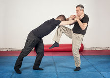 Free Street Fighting Self Defense Technique Against Holds And Grabs Royalty Free Stock Photo - 83739565