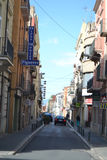 Street in Figueras, Catalonia Royalty Free Stock Photo