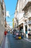 Street in Figueres Stock Photos