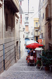 Street in Figueres, Spain Royalty Free Stock Image