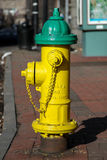 Street fire hydrant Stock Images