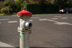Street fire hydrant stock photos