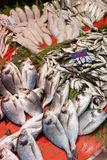 Street fish market in Istanbul Royalty Free Stock Images